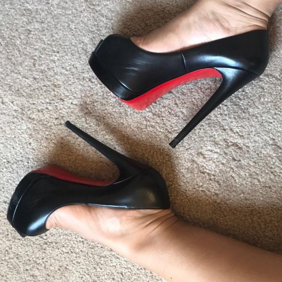 61d0a8fcbf Christian Louboutin Shoes   Altadama 140 Calf Pumps   Poshmark